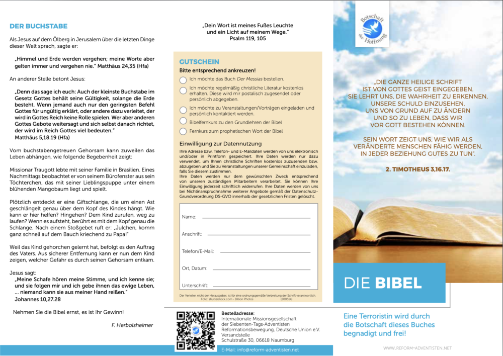 Missions-Flyer